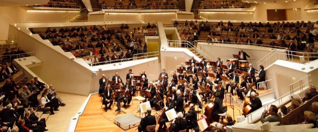 Philharmonische Solisten geben ein Konzert im Berliner Kammermusiksaal der Philharmonie, Konzertdirektion Hohenfels, Symphonisches Orchester Berlin